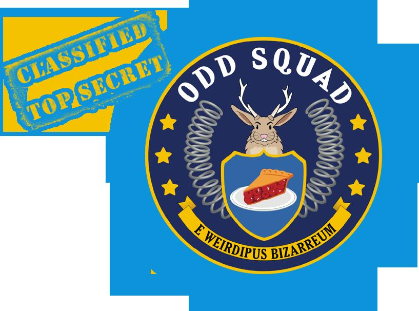 ODD SQUAD logo.