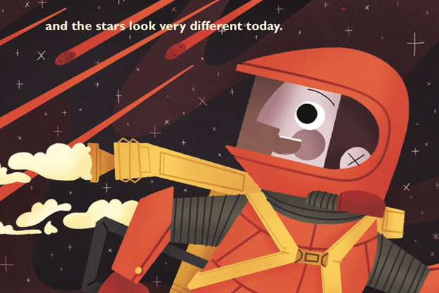 David Bowie's 'Space Oddity' Becomes a Children's Book.