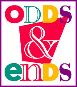 ODDS & ENDS from American.