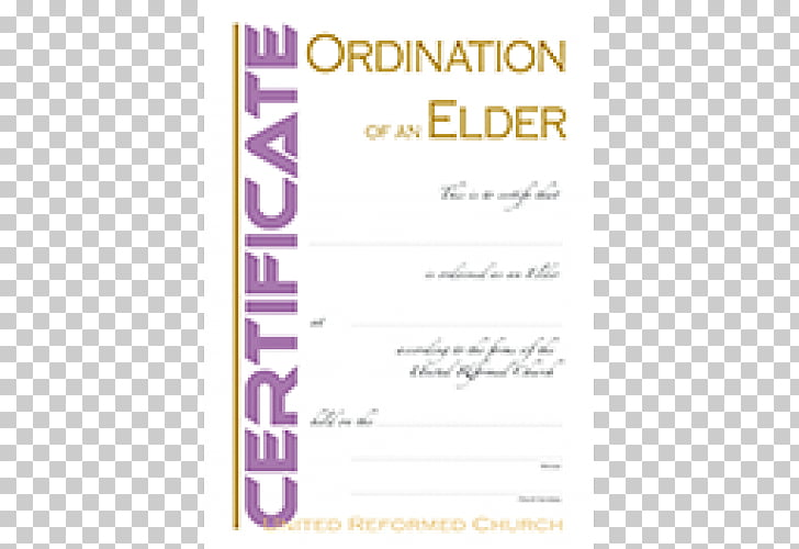 Certification Elder Ordination Presbyterianism OEKO.