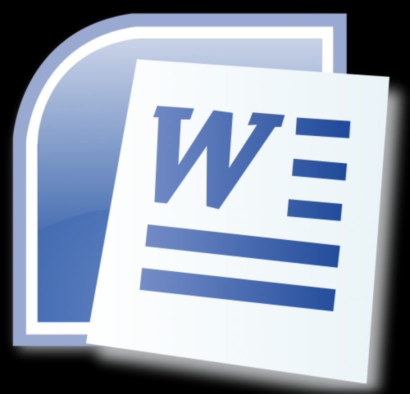 Clipart Microsoft Word 2016.
