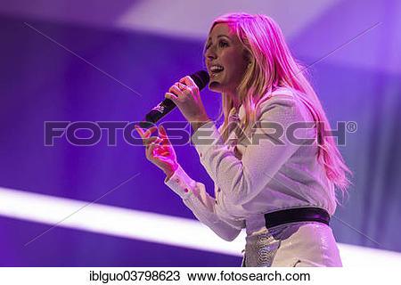 "Stock Photo of ""The British singer."
