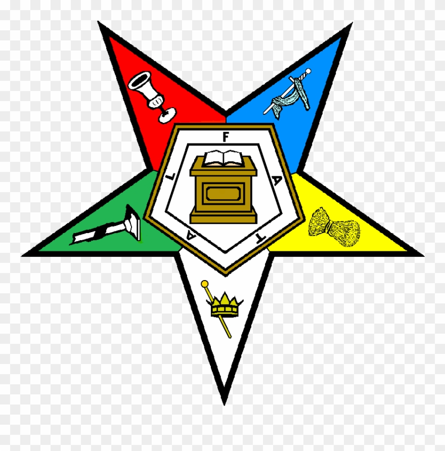 7, Order Of The Eastern Star.