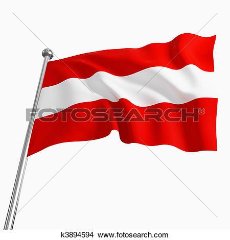 Drawings of austria flag k3894594.