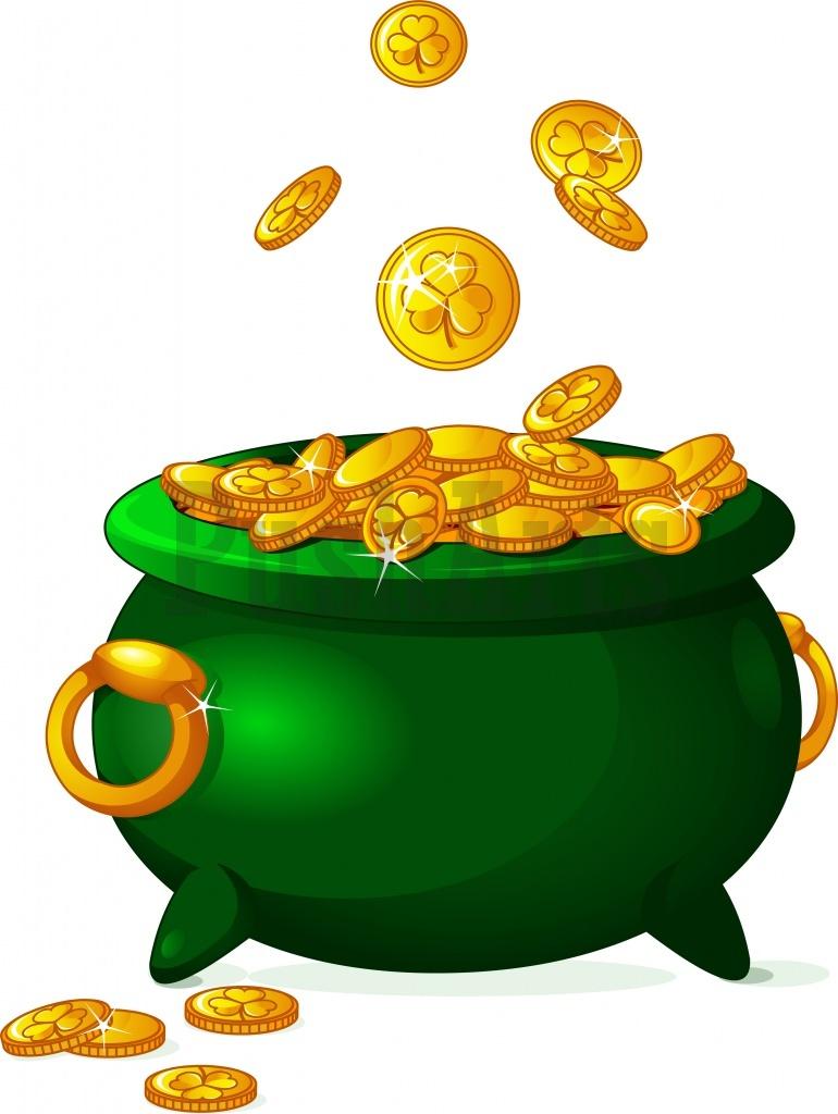 Pot Of Gold Clipart.
