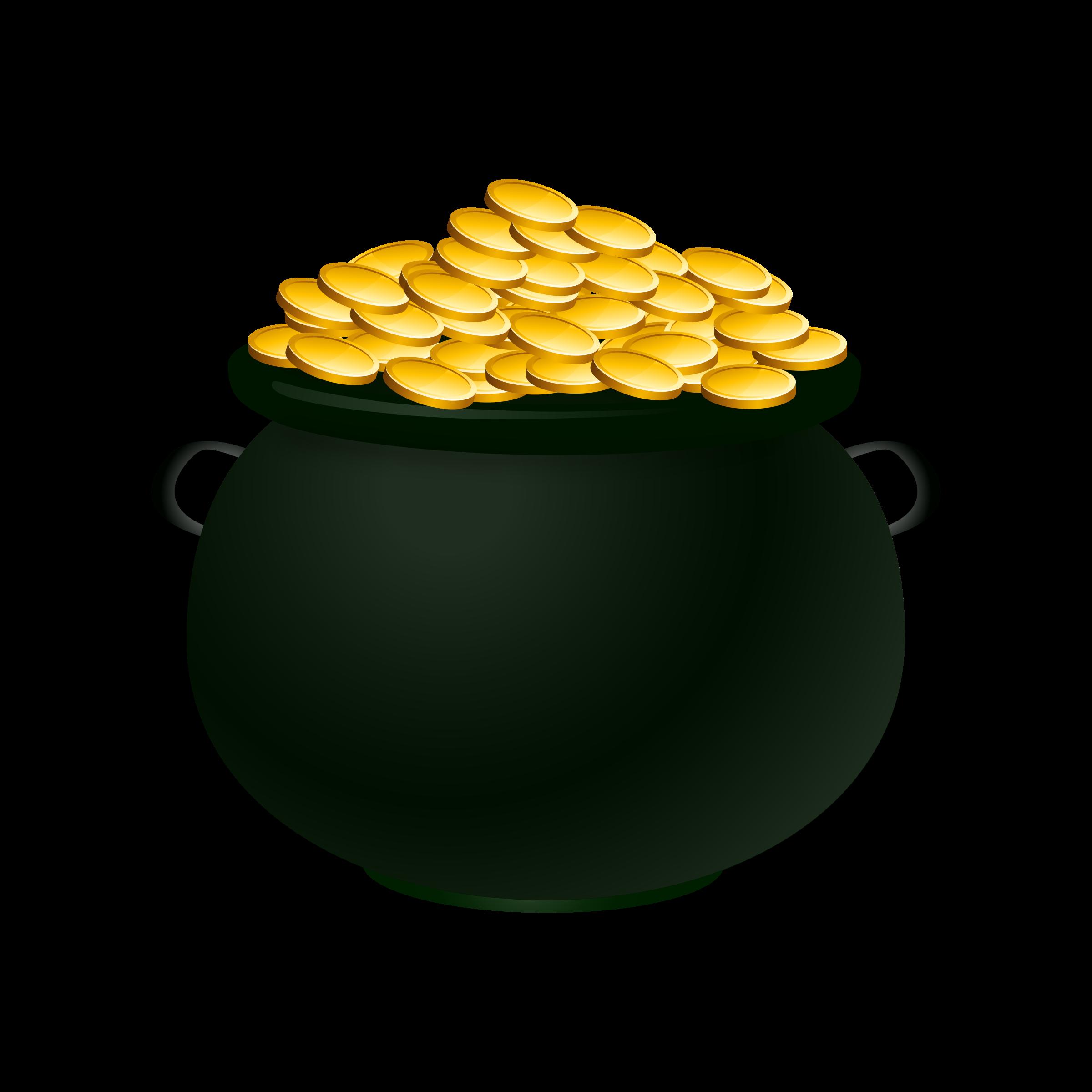 Gold Pot Clipart.