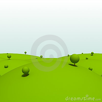 Green land clipart.