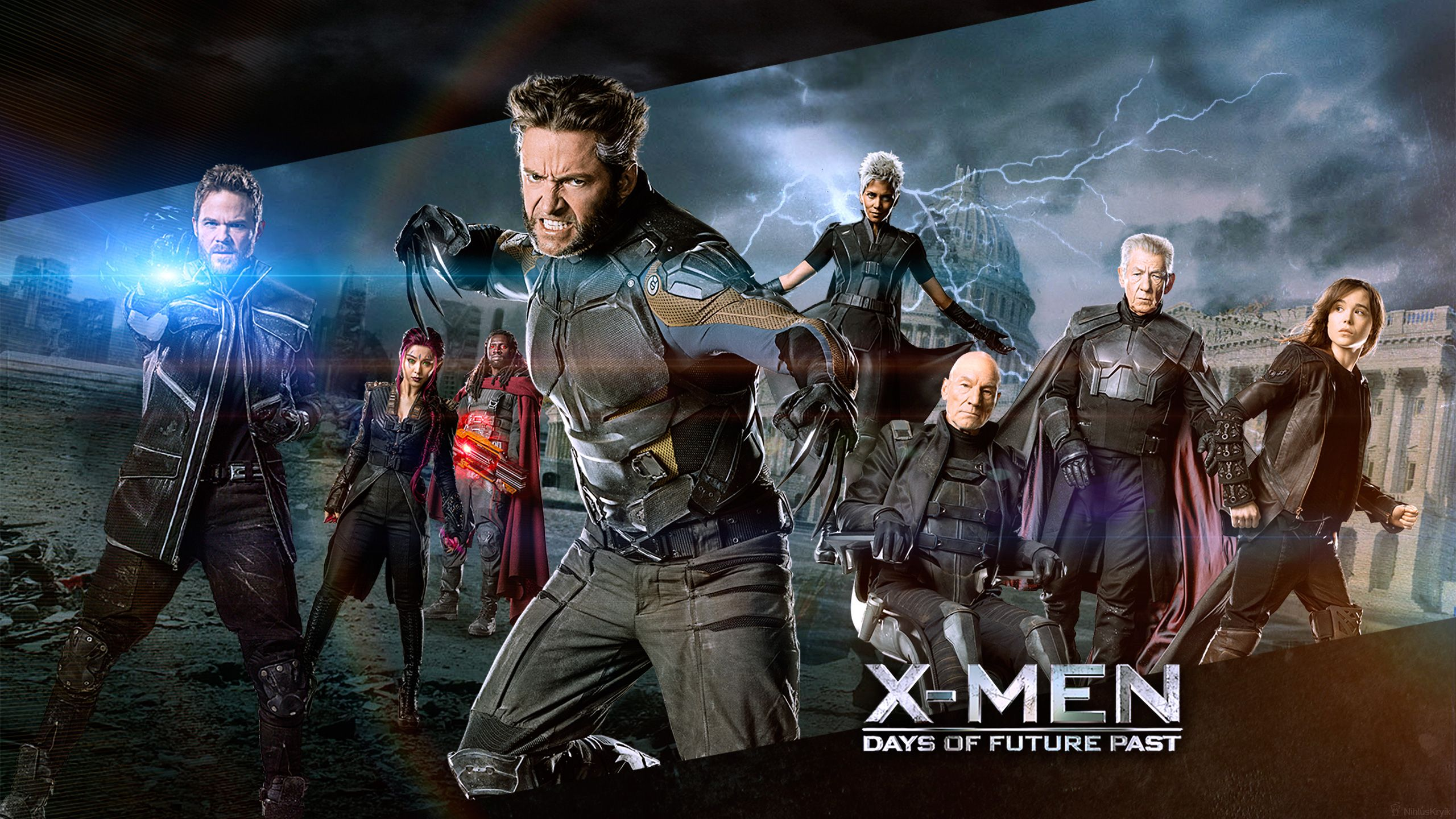 X men days of future past hd clipart.
