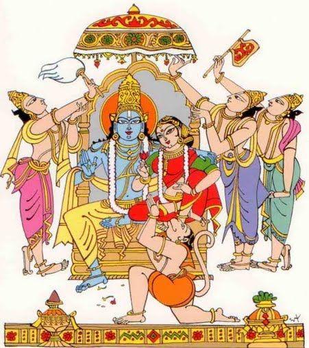 Bapu Sri RAma Navami drawing.