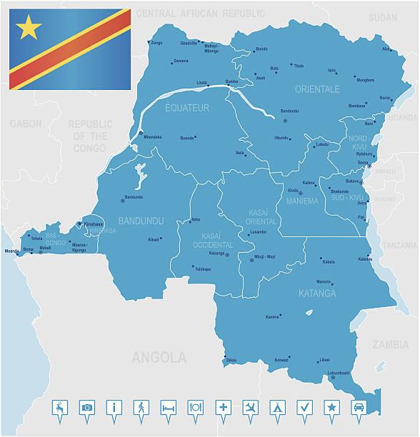 Republic Of The Congo Clip Art, Vector Images & Illustrations.
