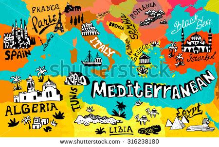 Mediterranean Clip Art (38+).