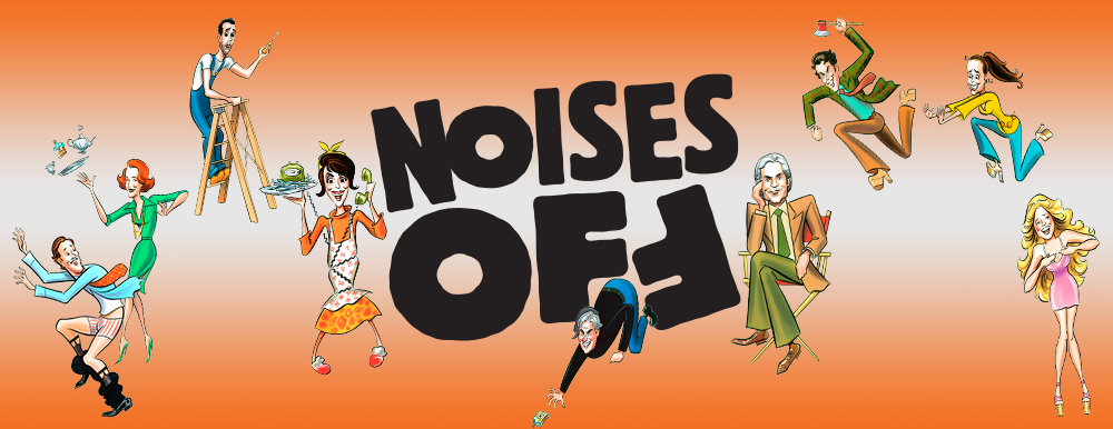 Noises Off on Broadway.