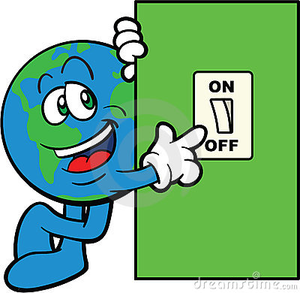 Light Switch Off Clipart.