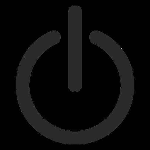 Turn off stroke icon.