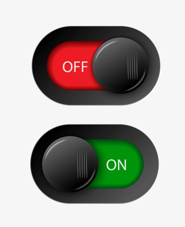 Onoff Switch Button Vector, Page Decorat #5753.