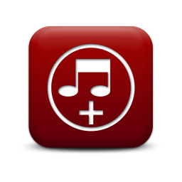 Simple Red Square Icons Media » Icons Etc.