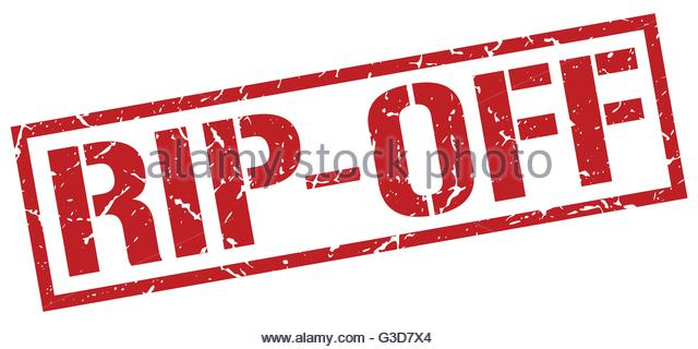 Rip Off Red Square Grunge Stamp Stock Photos & Rip Off Red Square.