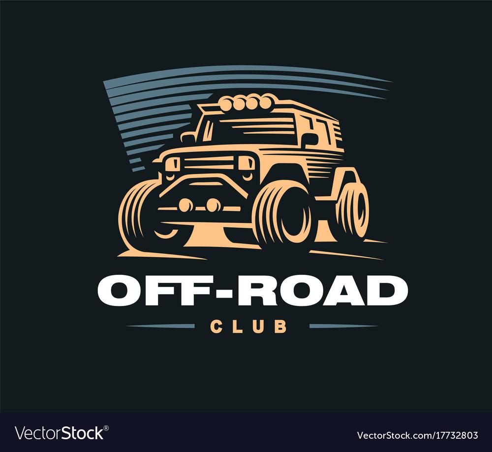 Off road car logo.