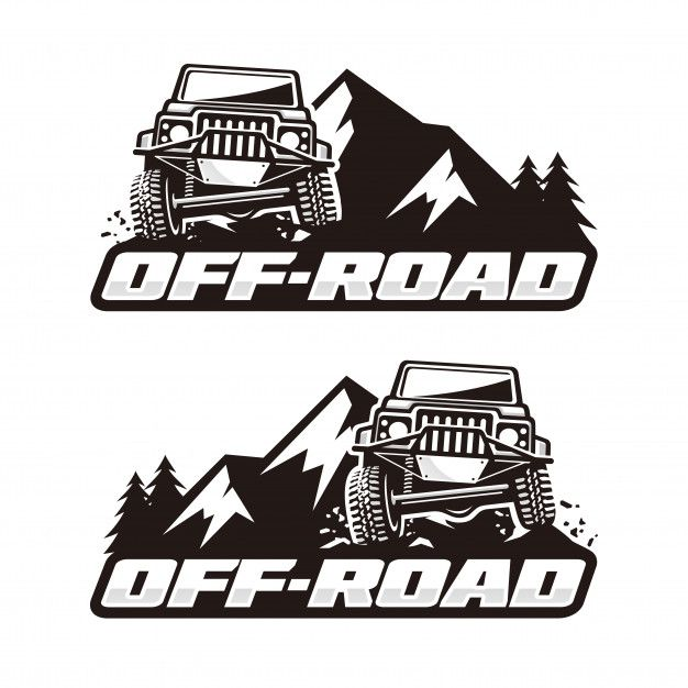 Off road logo template Premium Vector.