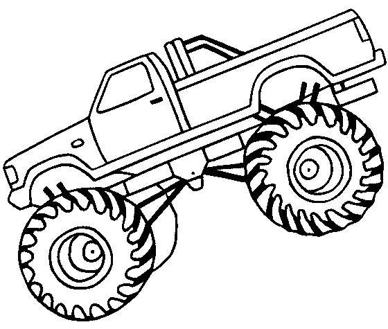 Monster truck off road coloring page car car coloring.