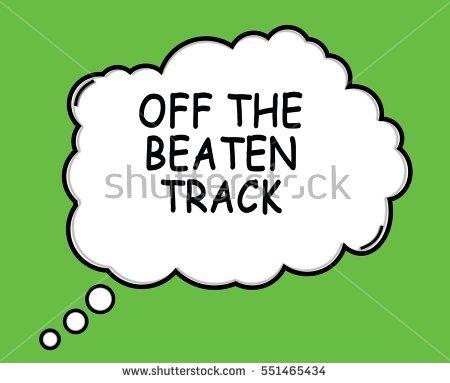 Beaten Track Stock Photos, Royalty.