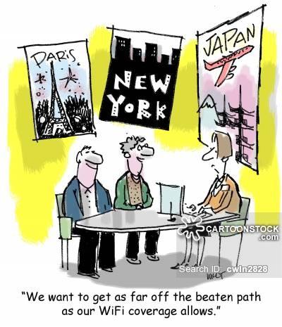 Off The Beaten Path Cartoons and Comics.