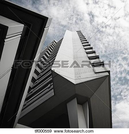 Stock Photograph of Germany, Offenbach, View of town hall.