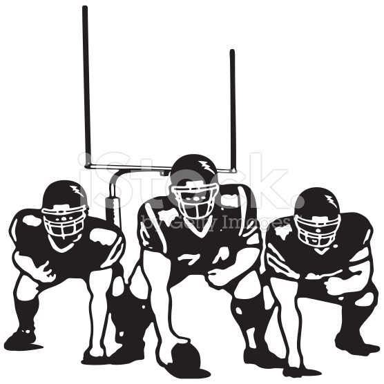 Football Lines Clipart.