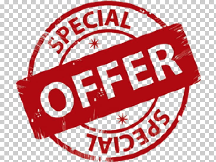 Special Offer , red special offer text PNG clipart.