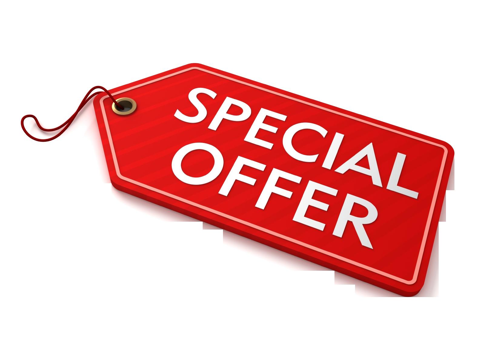 Special Offer PNG Transparent Images.