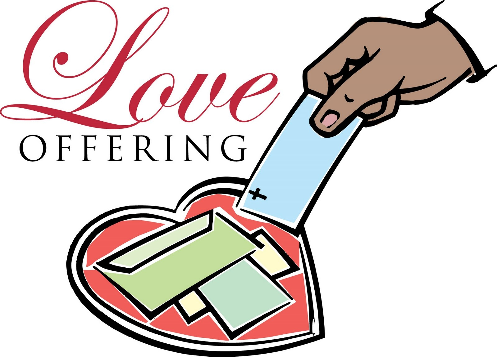 Love Offering Clipart.