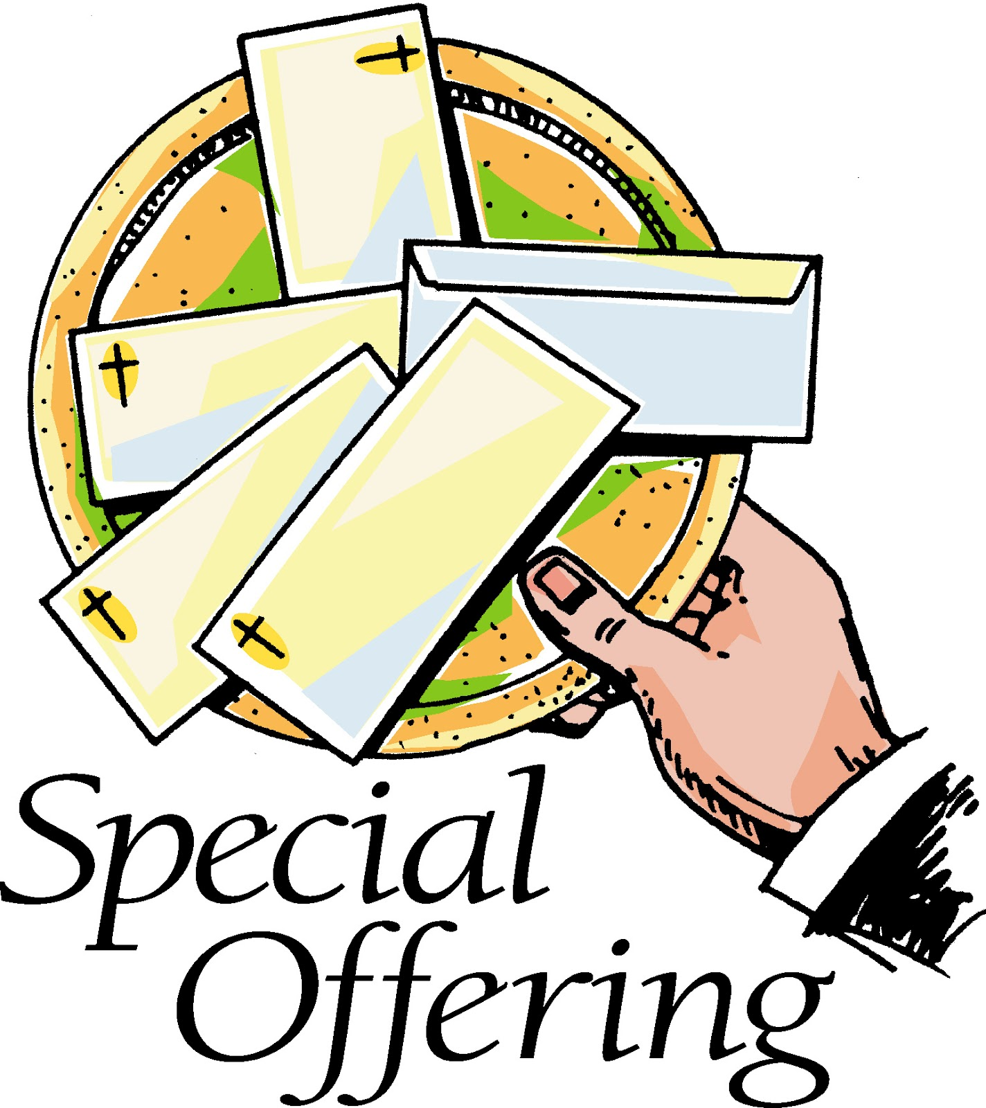 Special Offering Clipart.