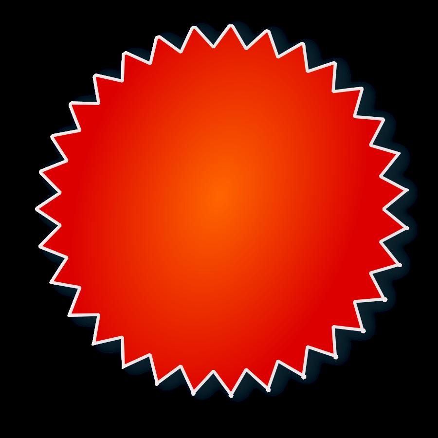 Price Sticker SVG Vector file, vector clip art svg file.