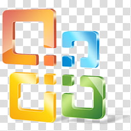 Office icon, Windows logo transparent background PNG clipart.