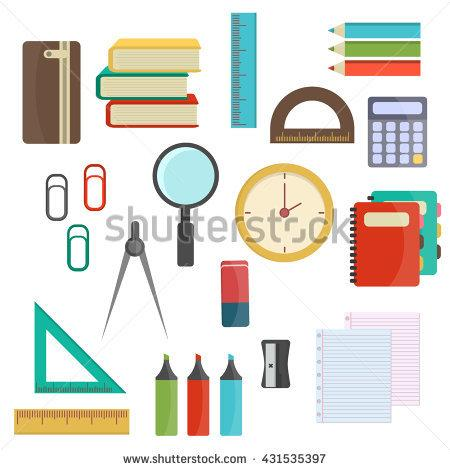 Office Stationery Stock Images, Royalty.