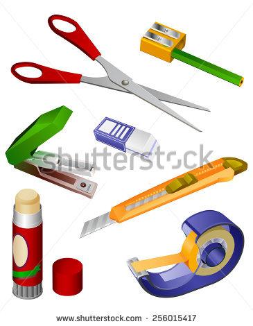 Office Accessories Stock Vectors & Vector Clip Art.