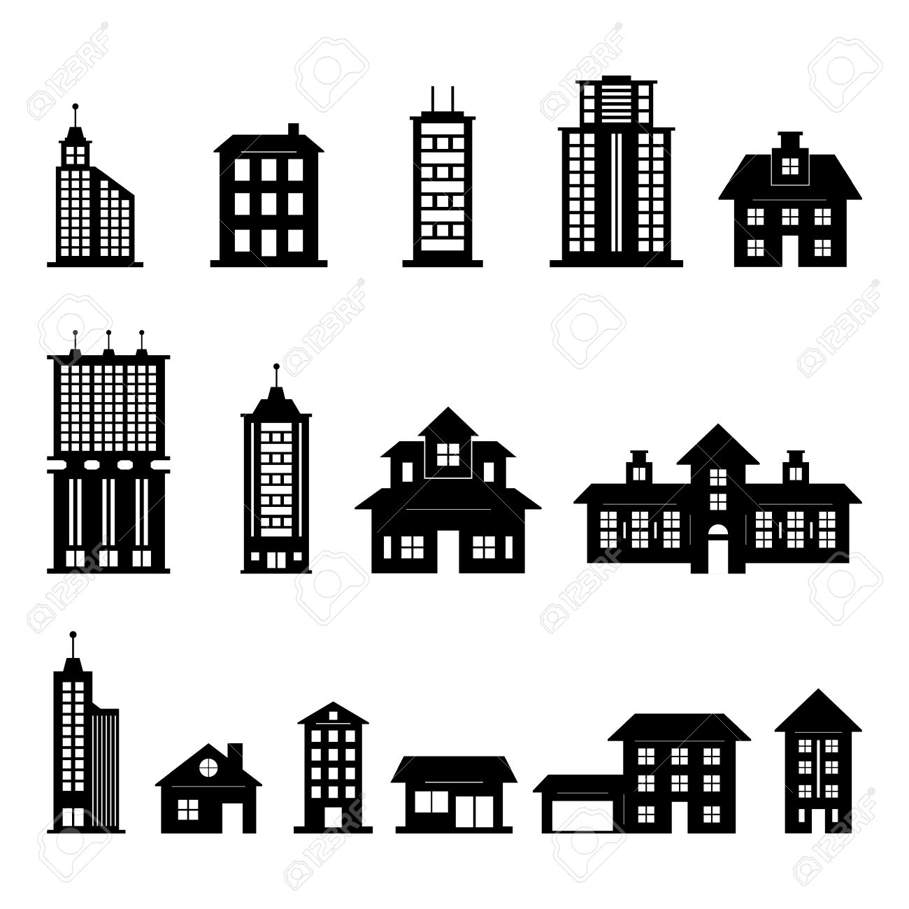 Building Vector Royalty Free Cliparts, Vectors, And Stock.