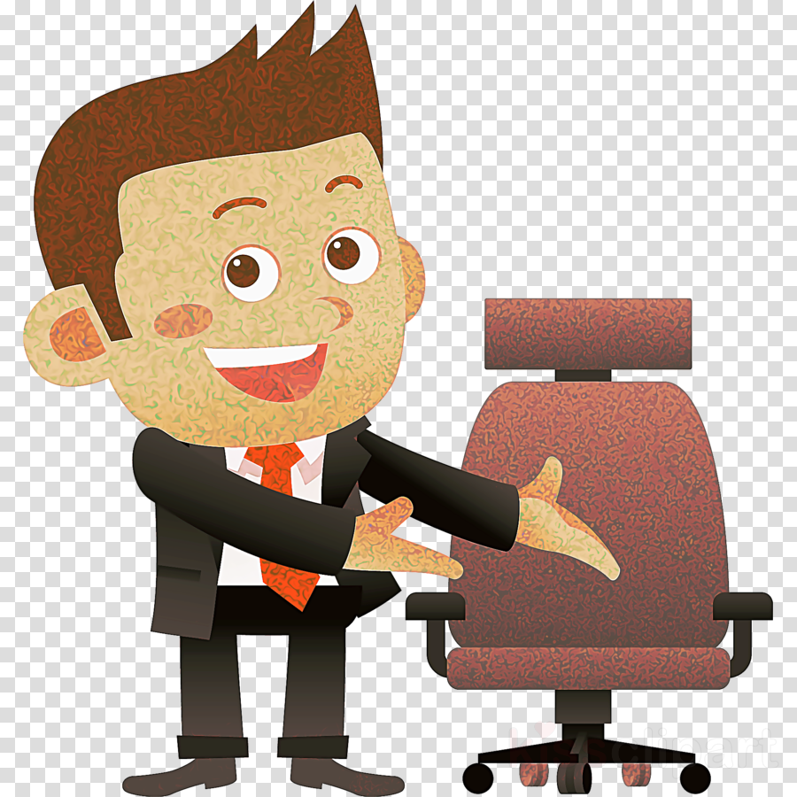 cartoon clip art job office chair animated cartoon clipart.