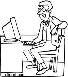 Free Office Clipart Black And White, Download Free Clip Art.