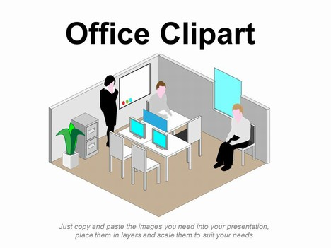 Small Office Building Clipart.