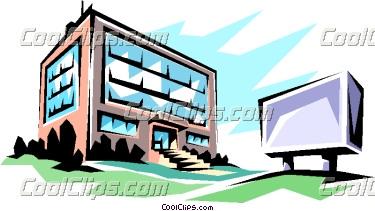 Apartment Complex Clipart.