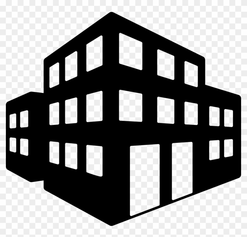 3d Buildings Svg Png Icon Free Download.