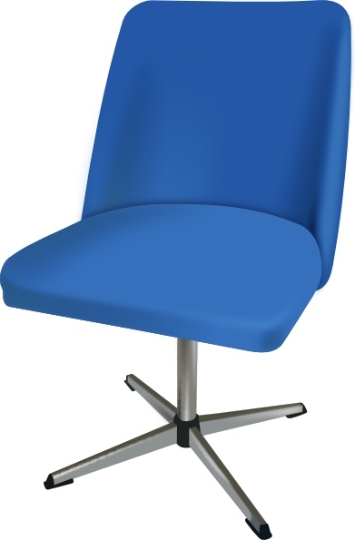 Furniture Desk Chair clip art Free vector in Open office drawing.