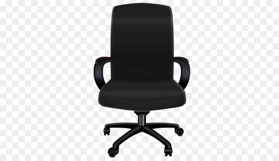 red office chair clipart Office & Desk Chairs Swivel chair.