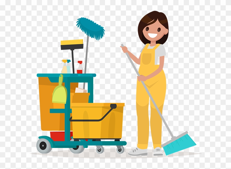 Office Cleaning Clipart Png Transparent Png.
