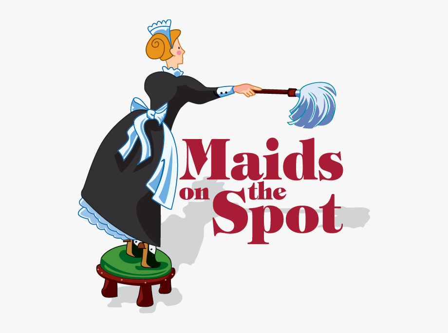 Maid Clipart Office Cleaning Services.