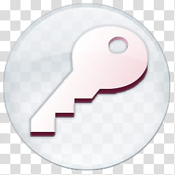 Microsoft Office Orbs, Access trans icon transparent.