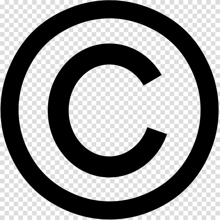 Copyright symbol United States Copyright Office Trademark.