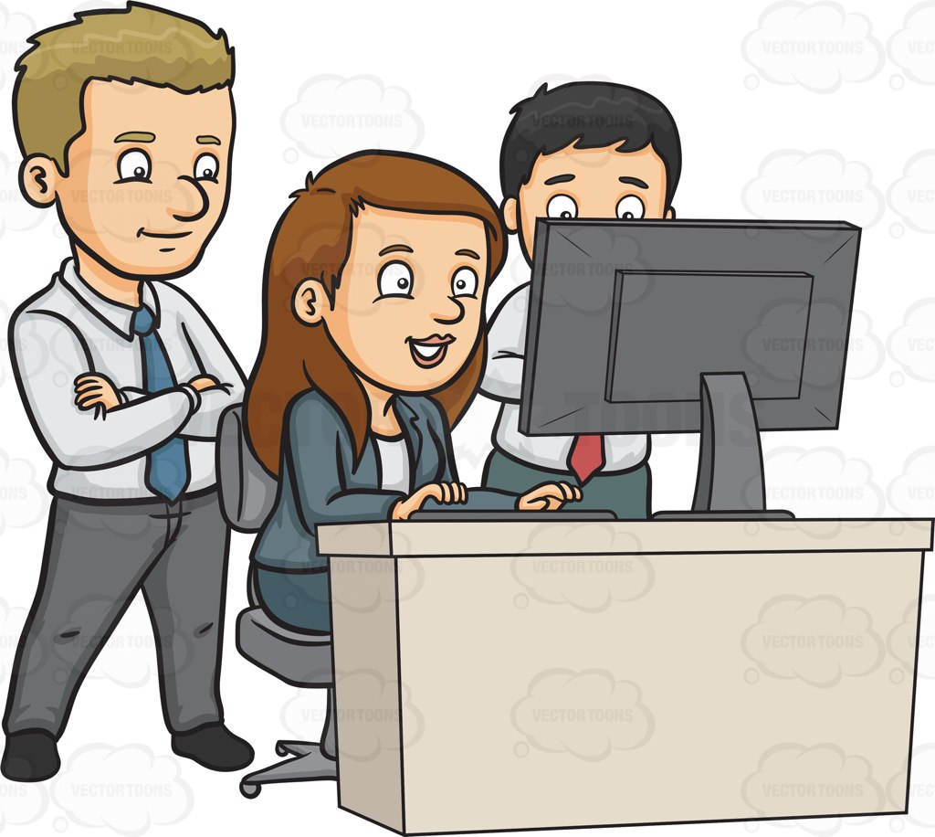 Office Staff Clipart.