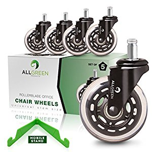 Amazon.com : Rollerblade Office Chair Caster Wheels Replacement.